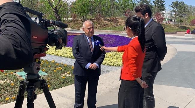 Başkan Mahçiçek Pekin'de EXPO 2019'a Katıldı..