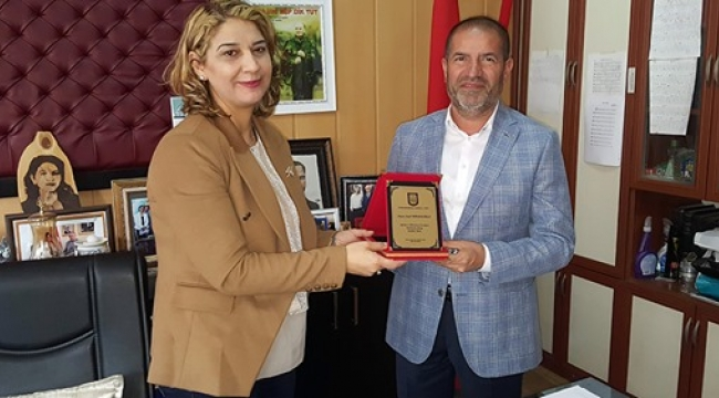 GARA LİSE'DEN SAMİ KERVANCIOĞLU'NA TEŞEKKÜR..