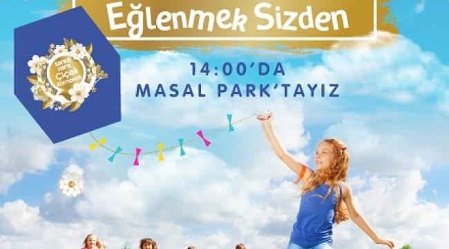 MASAL PARK'TA UÇURTMA ŞENLİĞİ VAR..