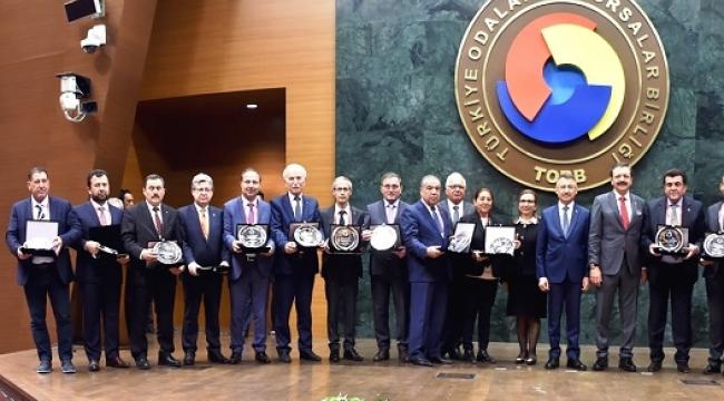 SANAYİCİLERİMİZ TOBB 75. GENEL KURULU'NA KATILDI..