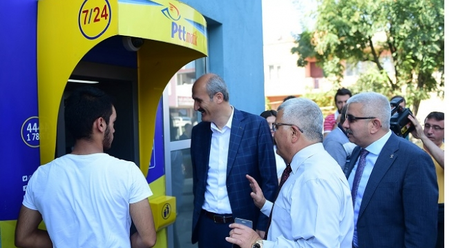 DULKADİROĞLU GENÇLİK MERKEZİ'NDE PTT HİZMETİ..