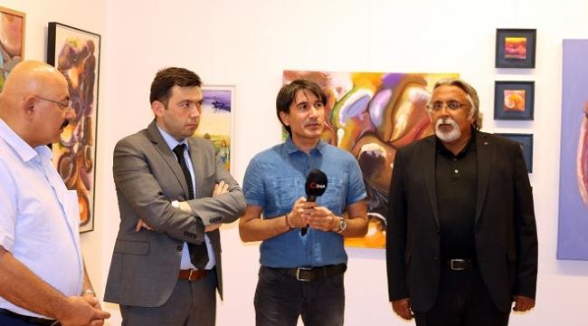 Kahramanmaraşlı Ressam Mehmet Akif Orçan'dan SANKO Sanat Galerisine övgü..