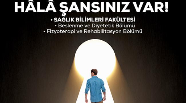 SANKOLU OLMAK İÇİN HALA ŞANSINIZ VAR..