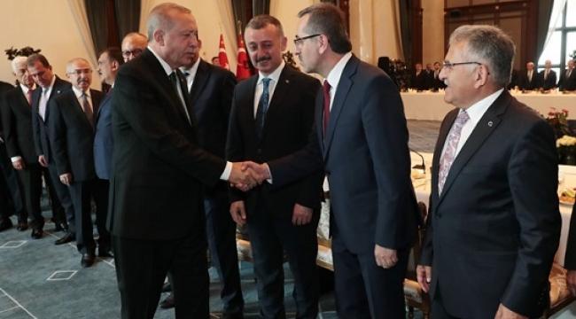 BAŞKAN GÜNGÖR'DEN CUMHURBAŞKANIMIZA TEŞEKKÜR...