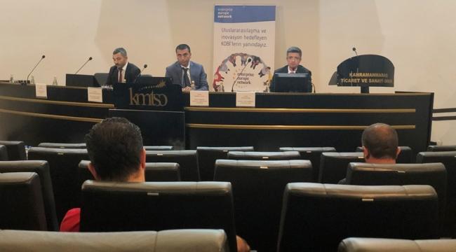 KMTSO'da KOSGEB ve Türk Exımbank Destekleri Anlatıldı