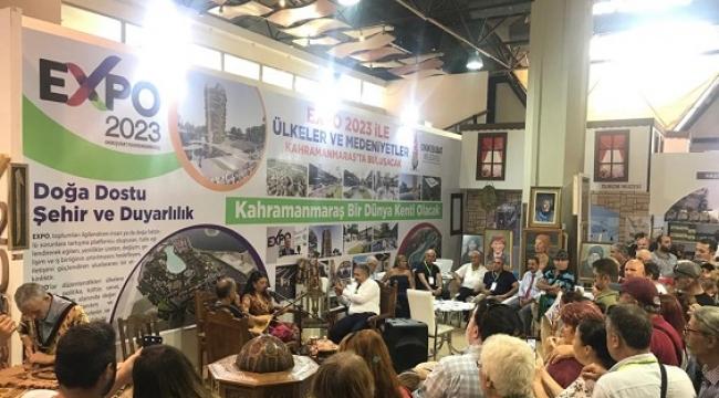 Onikişubat Belediyesi EXPO 2023'le İzmir Fuarı'nda..