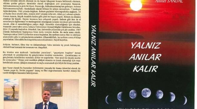 AHMET SANDAL BUGÜN KİTAP FUARINDA..