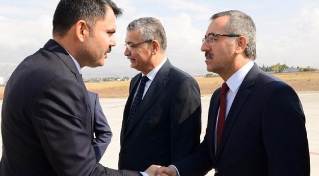 ÇEVRE ŞEHİRCİLİK BAKANI TORBASI DOLU GELDİ...