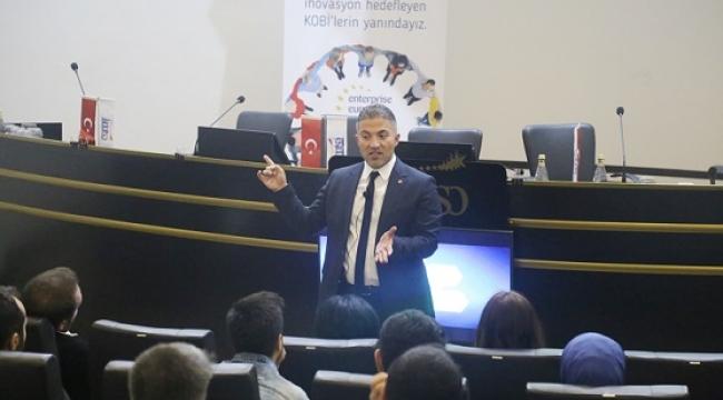 """KMTSO'DA """"İNOVASYON VE MOTİVASYON""""ANLATILDI.."""
