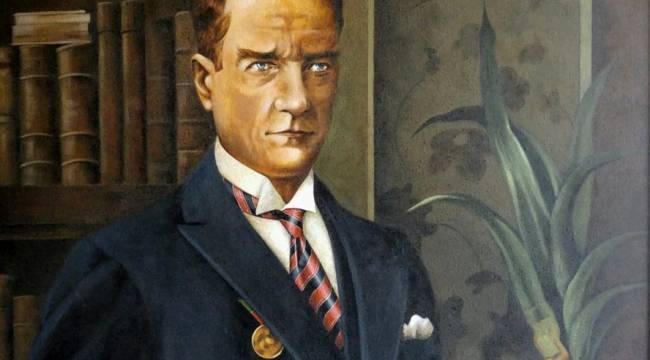 Ressam Cenk Sezer, Atatürk Portreleri Sergisi Açacak..