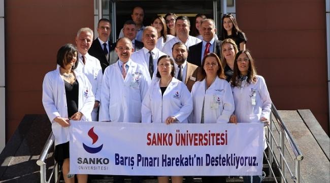 SANKO ÜNİVERSİTESİ'NDE KAN BAĞIŞI KAMPANYASI DÜZENLENDİ..