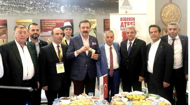 YÖREX FUARI'NA KAHRAMANMARAŞ DAMGASI..