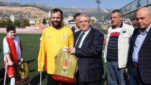 Başkan Mahçiçek, Sporun ve Sporcunun Yanında..