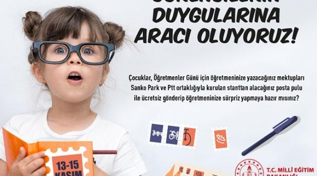 ÖĞRETMENİNE BİR MEKTUP DA SEN YAZ ..