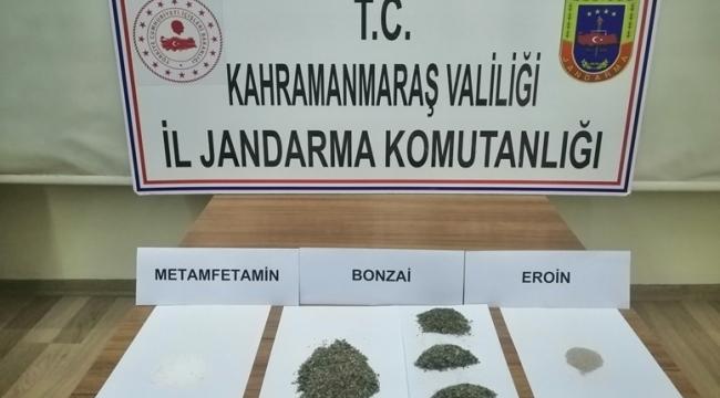 Pazarcık'ta Uyuşturucu Operasyonu: 8 Gözaltı