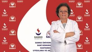 PROF. DR. YURDANUR KILINÇ SANKO ÜNİVERSİTESİ HASTANESİ'NDE..