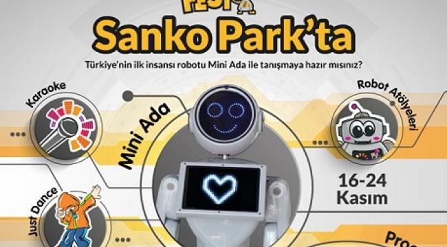 ROBOTICS FEST SANKO PARK'TA..