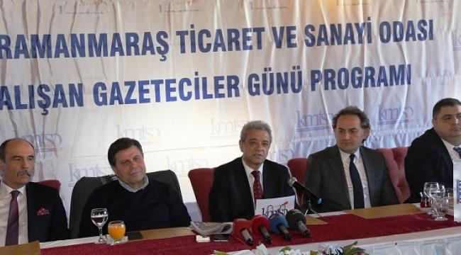 KMTSO KAHRAMANMARAŞ BASINI İLE BULUŞTU..
