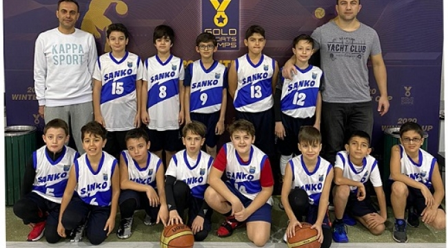 """SANKO OKULLARI BASKETBOL TAKIMI """"2020 WINTER CUP"""" ŞAMPİYONU.."""
