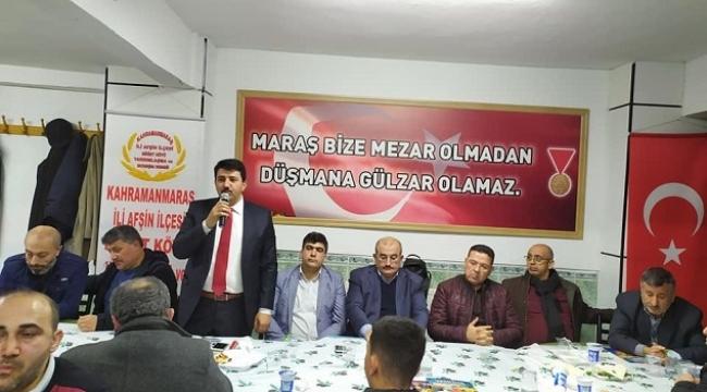 AFŞİNDER, DEPREM VE AFETLERE DİKKAT ÇEKTİ..