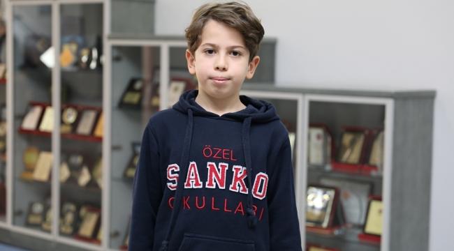 SANKO Okulları'ndan Efe Tahtacı İlk 15 Öğrenci Arasına Girdi