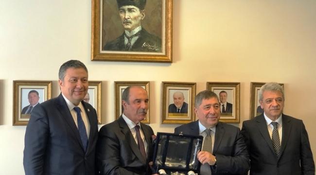 KMTSO HEYETİ EXIMBANK YÖNETİMİ İLE BİRARAYA GELDİ..