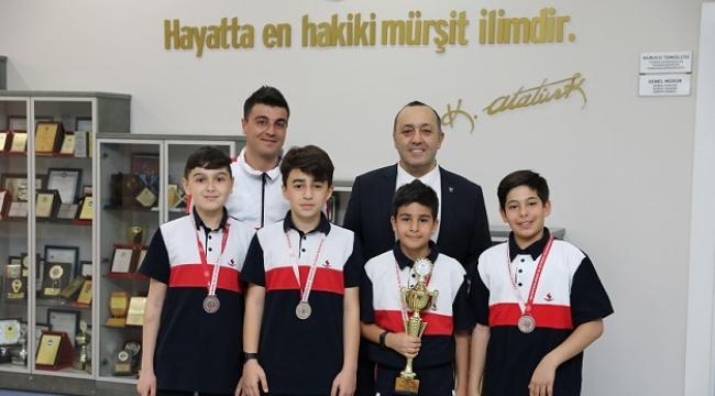 SANKO OKULLARI BOCCE'DE İL İKİNCİSİ OLDU..