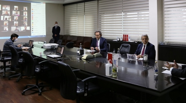 "KMTSO MECLİSİ ""VİDEO KONFERANS"" ARACILIĞI İLE TOPLANDI.."