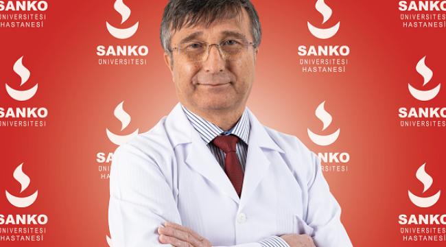 PROF. DR. YESARİ KARTER SANKO ÜNİVERSİTESİ HASTANESİ'NDE..