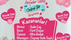 SANKO PARK ANNELER GÜNÜ ŞİİR YARIŞMASI SONUÇLANDI..
