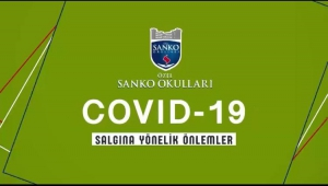 SANKO OKULLARINDAN COVID-19'A KARŞI UYARI FİLMİ..