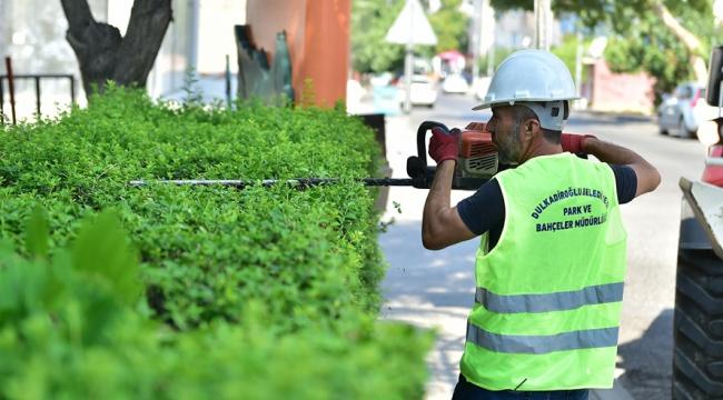 Dulkadiroğlu'nda Park ve Bahçe Bakımları Yapılıyor