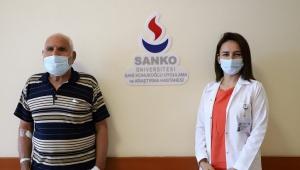SANKO ÜNİVERSİTESİ HASTANESİ'NDE KORNEA NAKLİ ..