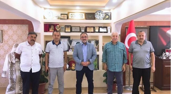 İŞ ADAMI AV. İBRAHİM KAYA MEMLEKET HASRETİ GİDERDİ...
