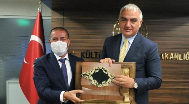 Müsiad Başkanı Kervancıoğlu^ndan Kültür Turizm Bakanına Davet..