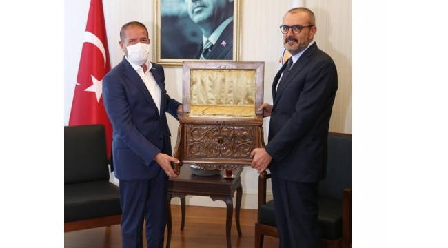Müsiad Başkanı Kervancıoğlu'ndan Ünal'a ziyaret..