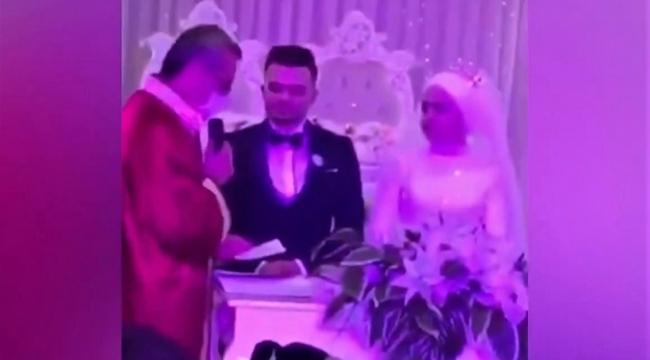 Damada nikah töreninde arkadaşlarından sürpriz..