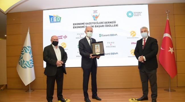 EGD Ekonomi Basını Başarı Ödülleri sahiplerini buldu..