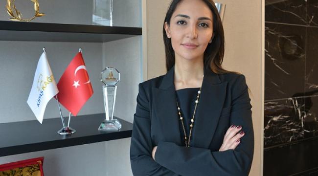 N.SİNEM ÖKSÜZ TÜRKİYE'NİN EN GÜÇLÜ CEO VE KADINLARI ARASINDA..