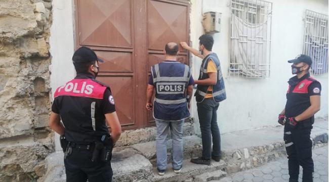 Aranan 35 kişi tutuklandı