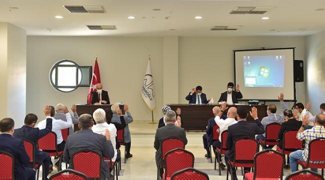 DULKADİROĞLU BELEDİYESİ MECLİS TOPLANTISI..
