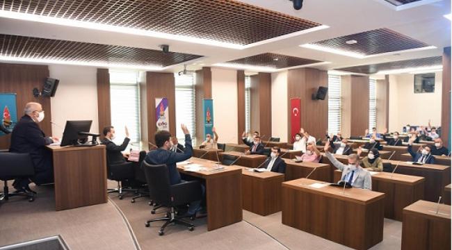 SOSYAL MESAFELİ MECLİS TOPLANTISI..