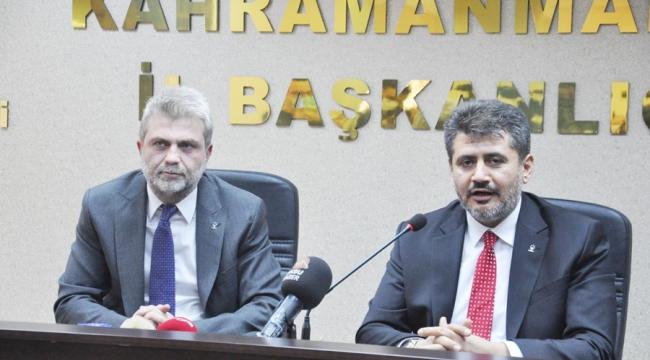 AK Parti İl Başkanı Fırat Görgel mazbatasını aldı