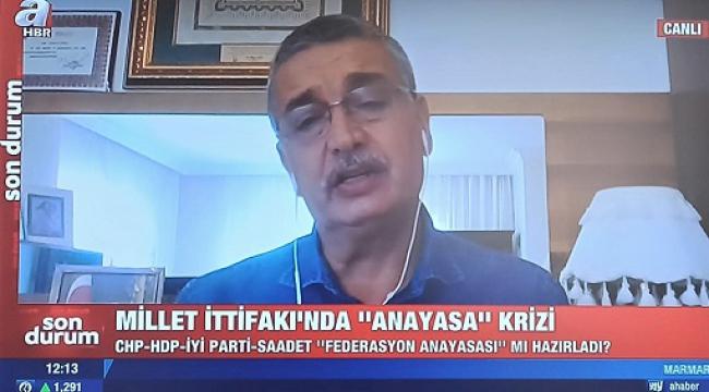 CHP, SP, İYİ Parti terör örgütünün uzantısı olan HDP'ye payandalık yapıyorlar..