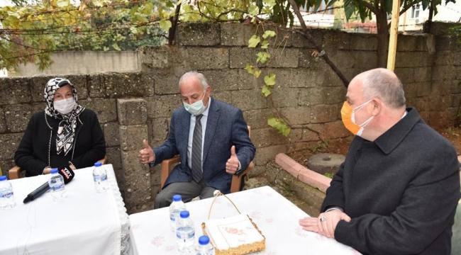Kahramanmaraş'ta 46 yıllık evli çiften örnek birliktelik ...