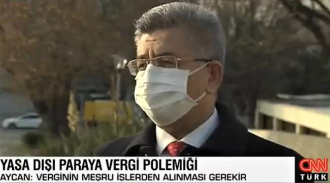 CHP liderine MHP'li Aycan cevap verdi.