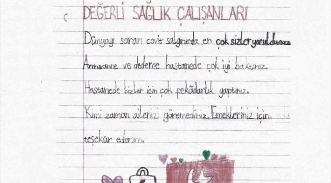 """-""""DÜNYAYI SARAN COVİD-19 SALGININDA EN ÇOK SİZLER YORULDUNUZ"""".."""
