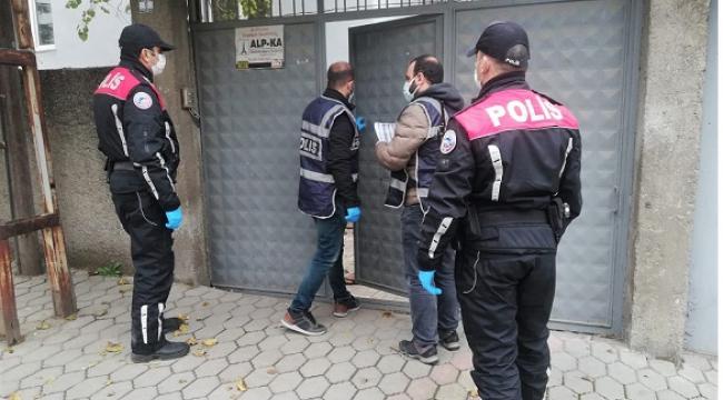 Kahramanmaraş'ta aranan 90 kişi yakalandı ..