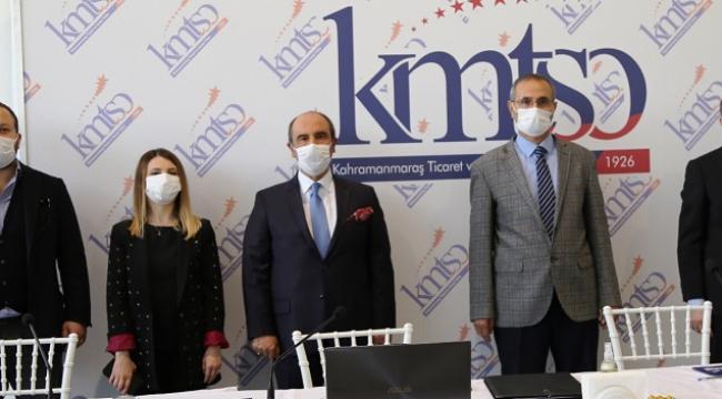 KMTSO VE KSÜ EĞİTİME DESTEK PROTOKOLÜ İMZALADI..