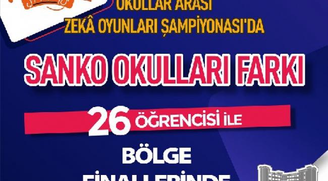 SANKO OKULLARI 26 ÖĞRENCİSİ İLE BÖLGE FİNALLERİNDE ..